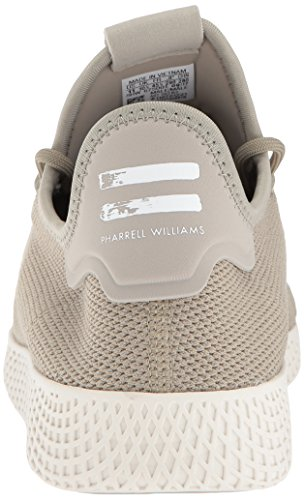 adidas Originals Men's Pharrell Williams Tennis HU Running Shoe Tech Beige/Chalk White, 4 Medium US by adidas Originals (Image #2)
