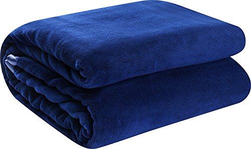 Utopia Bedding Coral Fleece Blanket with Sateen Edges  – E