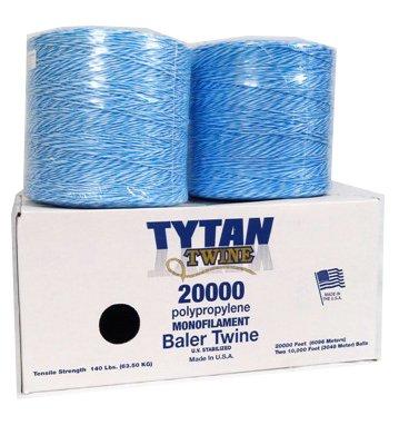 TYTAN INTERNATIONAL Baler Twine (2 Pack), Blue