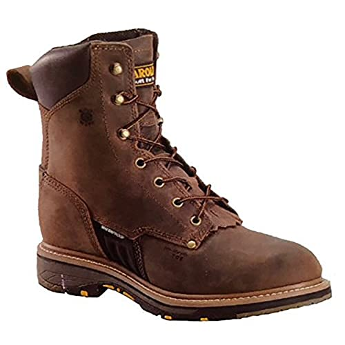 "Carolina Men's Brown CA1559 Steel Toe 8"" Work Boot"