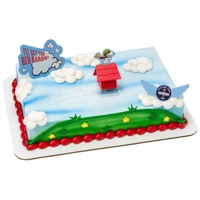 The Peanuts Movie Flying Ace DecoSet Cake Decoration Topper -
