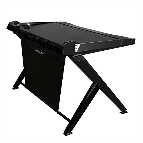 DXRacer DGD/1000/N Newedge Edition gaming desktop office desk computer desks pc desk gaming table Ergonomic Comfortable Desk (Black)