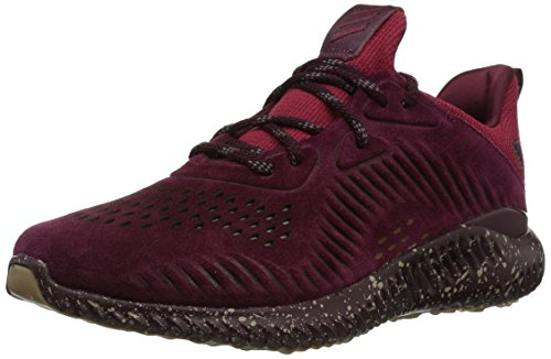 adidas Performance Men's Alphabounce Lea Running Shoe Maroon/Trace Khaki/White 11 M US