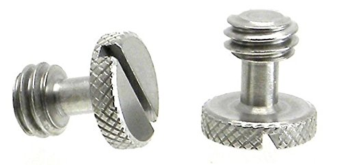 """2 Steel Screw 3/8"""" for Camera Tripod QR Plate ideal for sale  Delivered anywhere in USA"""
