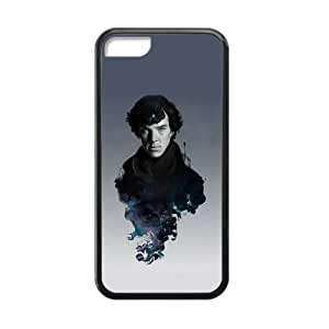Unique Sherlock Cover Case phone Protector iphone 5/5s iphone 5/5s Back Skin TPU Laster Cut