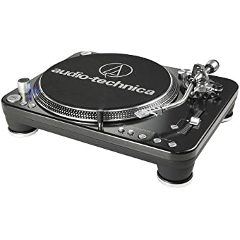 Audio Technica AT-LP1240-USB Direct Drive DJ Turntable