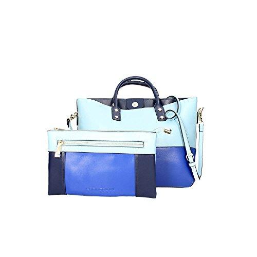 Fornarina AE17AS080P011 Neceser Bolsas & Accesorios Azul/azul celeste