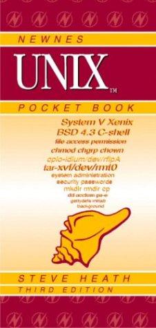 Newnes Unix Pocket Book, Third Edition (Newnes Pocket Books) by Brand: Newnes