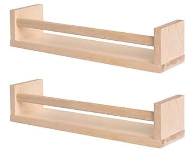 Ikea Bekvam GARDEN / OUTDOOR - Estantería/organizador de madera de abedul para especias (2 unidades), ideal para el jardín, césped: Amazon.es: Amazon.es