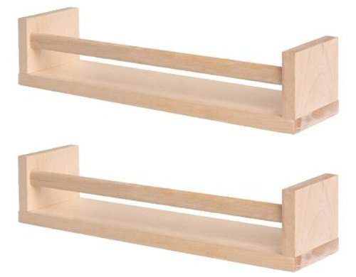 Ikea Bekvam Wooden Spice Rack/Organizer in Birch (2-pack), Garden, Lawn, Maintenance