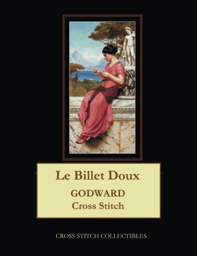 Le Billet Doux: J.W. Godward Cross Stitch Pattern