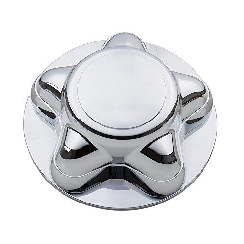 CarBole Chrome Wheel Hub Cap Center Cap with 7