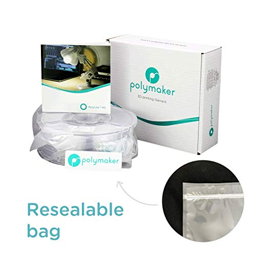 Amazon.com: polymaker pc-plus (3,00 mm, 750 g ) Natural ...