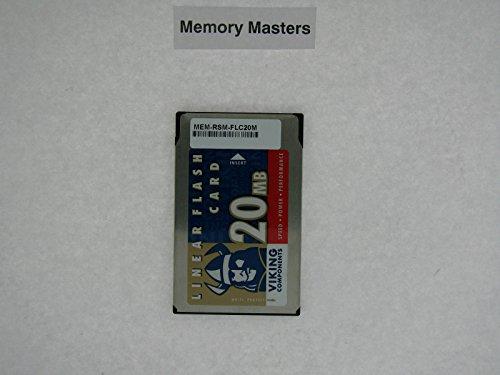 MEM-RSM-FLC20M 20MB Approved PCMCIA Linear Flash Card Memory for Cisco ()