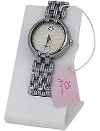 Relógio Feminino Original Orizom Prata Barato Promoção