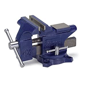 Wilton 50504 Workshop Vise Swivel Base 4 1 2 Inch Jaw Width 4 Inch Jaw Opening 2 3 8 Inch