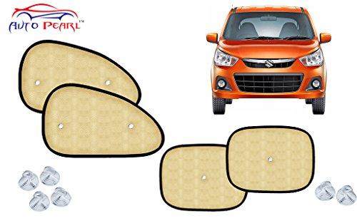 Auto Pearl Car Auto Window Beige Side Chipkoo Sunshade Curtains   Alto K10