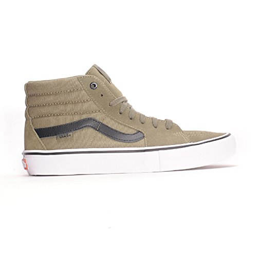 cd081417cd Vans Sk8-Hi Pro Dakota Roche (Burnt Olive Black) Men s Skate Shoes-11 - Buy  Online in UAE.