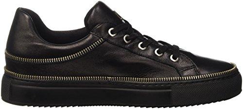 Bikkembergs Doll-er Db 798 Low Shoe W Leather, Sandalias con Plataforma para Mujer Negro