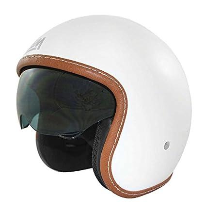 Casco Moto LEM - Sport - BLANCO BRILLO (XS)