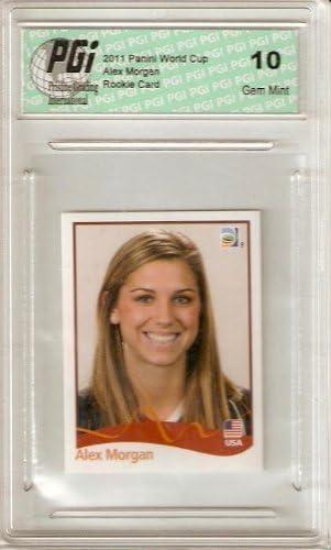 Abby Wambach 2011 Panini German Issue World Cup USA Card PGI 10