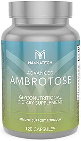 Mannatech Advanced Ambrotose 120 Capsules, Transform Your Health with Advanced Cellular Support for Your Immune System