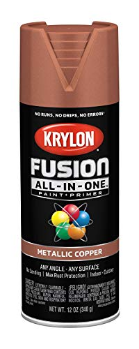 Krylon K02768007 Fusion All-in-One Spray Paint, - Paint Copper