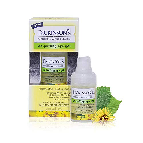 Dickinson's Original De-Puffing Eye Gel, Non-Drying Formula, 0.5 Fl. Oz.