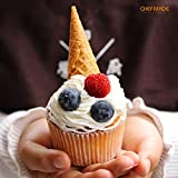 CHEFMADE Muffin Cake Pan, 12-Cavity Non-Stick