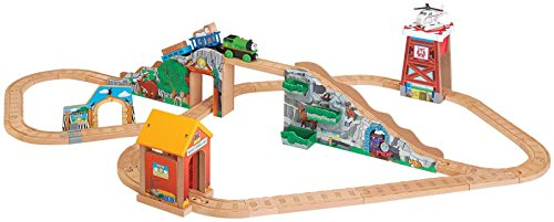 Fisher-Price-Thomas-Friends-Wooden-Railway-Percy-The-Little-Goat-Set-Toy