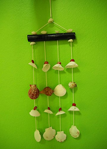 Seashell Mobile for Home Decoration with 4 - Seashell Pant