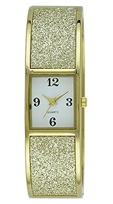 Moulin Women's Shimmering Bangle Watch Goldtone #18291.76785