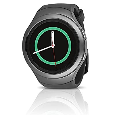Samsung Galaxy Gear S2 Smartwatch SM-R730T (T-Mobile) with Small Rubber Band - Certified Refurbished