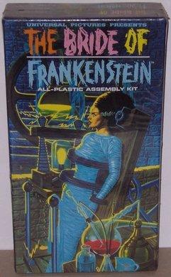 Universal Monsters, The Bride of Frankenstein, Polar Lights Model Kit