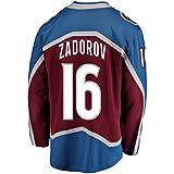 Mens Hockey Jersey Maroon/Strip S-XXXL(Maroon, Small)