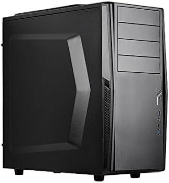 Silverstone PS10 Torre Negro - Caja de Ordenador (Torre, PC, De ...