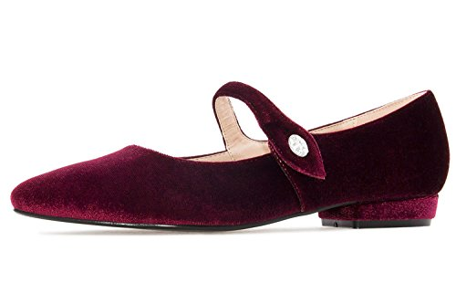 Jane Machado Mary Rot rosso basse Andres donna OPqzzE