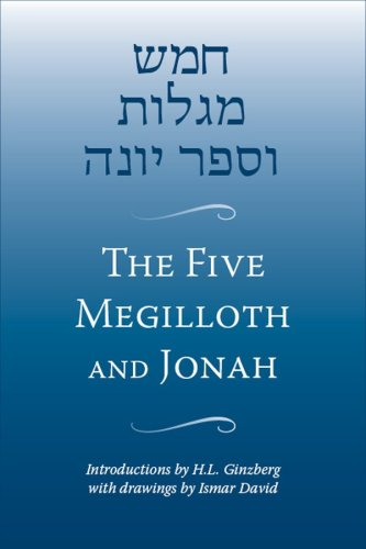The Five Megilloth and Jonah