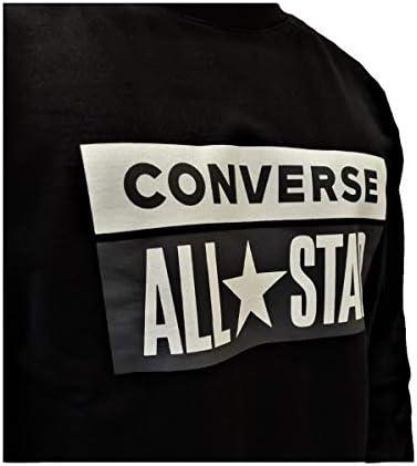 Converse All Star Crew Nera, Nero, S