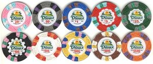 Set Poker Commemorative (DUNES COMMEMORATIVE POKER CHIP SET (10))