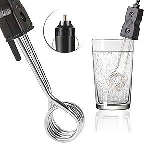Enfriador//calentador el/éctrico de bebidas para coche AUSHEN funciona en pocos minutos
