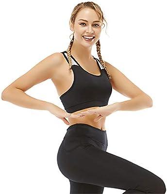AUMING Sujetador Deportivo de Alto Impacto Sujetadores de Yoga sin Costuras inalámbricos Extra Suaves, de algodón orgánico, para Mujeres Sujetador inalámbrico cómodo y Acolchado cómodo: Amazon.es: Hogar