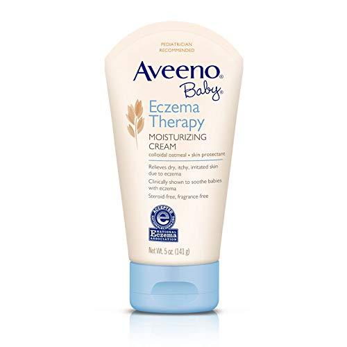 Cream Eczema Baby - Aveeno Baby Eczema Therapy Moisturizing Cream with Natural Colloidal Oatmeal for Eczema Relief, 5 oz