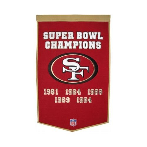 (Winning Streak NFL San Francisco 49ers Dynasty Banner)