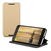 kwmobile Practical and chic FLIP COVER case for Huawei Google Nexus 6P in gold