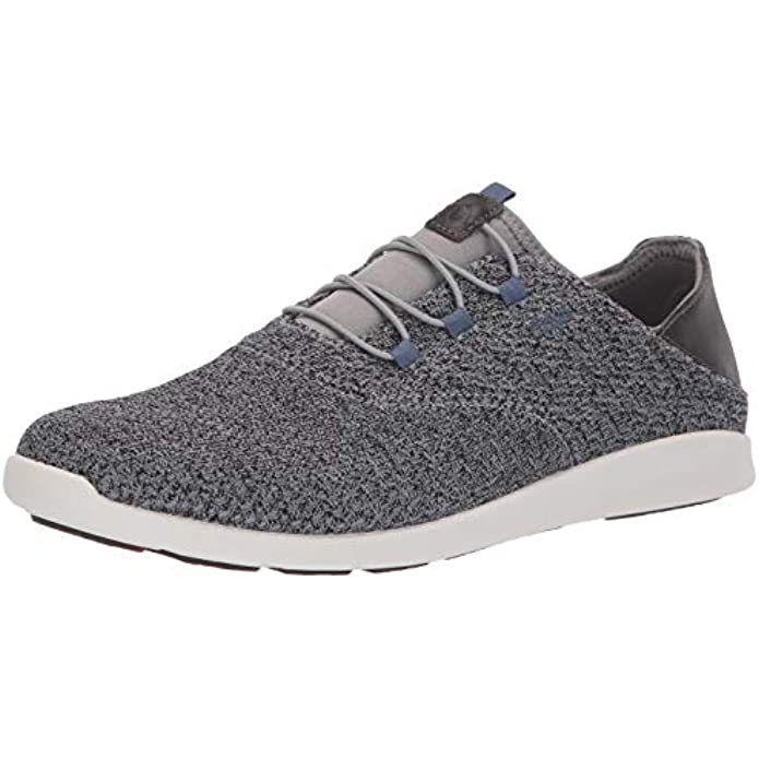 OLUKAI Alapa Li Men's Athletic Sneakers, Breathable Mesh & Moisture-Wicking Design, No Tie Laces, Lightweight & Supportive