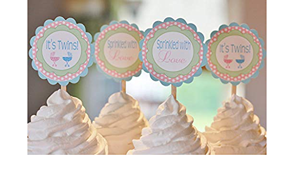 Other Colors Available Baby Stroller Buggy Chandelier Pink Gold Polka Dot Baby Shower Its a Girl Banner Sign Decorations