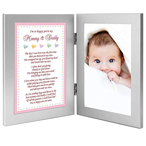 New Parents Gift, Sweet Poem from Baby Daughter, Add Photo (Baby Girl Poems From Mommy And Daddy)