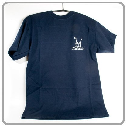 """Pull Me Back in the """"Boot navy Polo Shirt (groß)"""