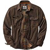 Legendary Whitetails Men's Journeyman Rugged Shirt Jacket Tobacco Large